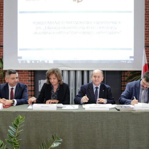 Podpisanie porozumienia BdE Wrocław