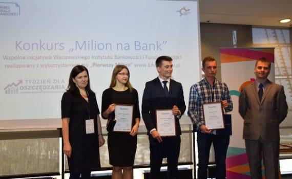 Zwycięzcy w klasyfikacji generalnej Milion na Bank