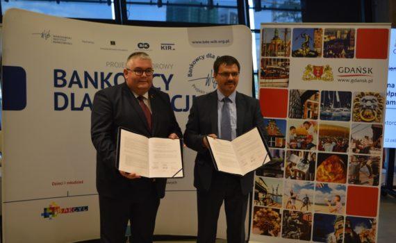 Podpisanie porozumienia BdE Gdańsk