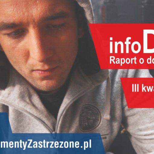 Raport dokumentach infoDOK - III kwartał 2017 r.
