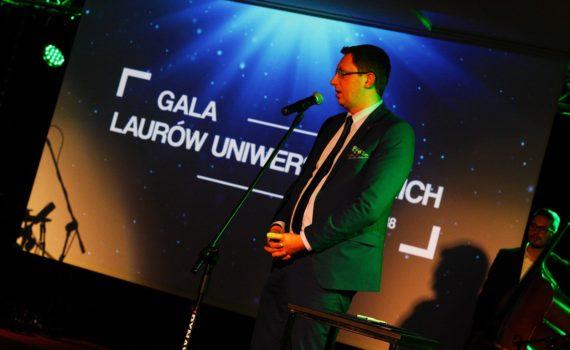 Gali Laurów Uniwersyteckich 2018 - Krzysztof Ostafiński, Dyrektor Programu Nowoczesne Zarządzanie Biznesem