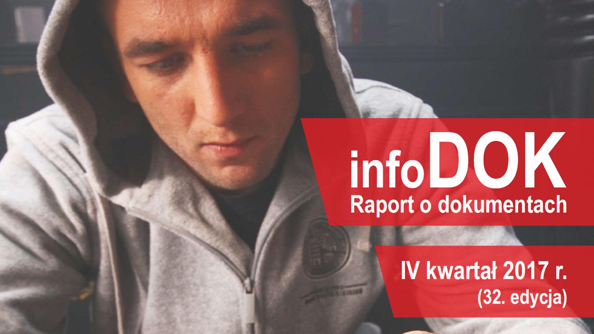 Raport o dokumentach infoDOK - 2017 Q4