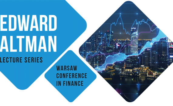 Edward Altman Lecture Series 2018 Plakat