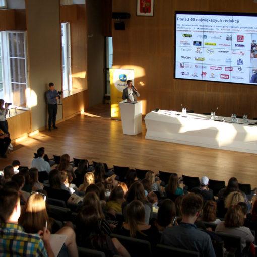 IV Konferencja Mediów Studenckich na Uniwersytecie Warszawskim, fot. Martyna Sciesińska