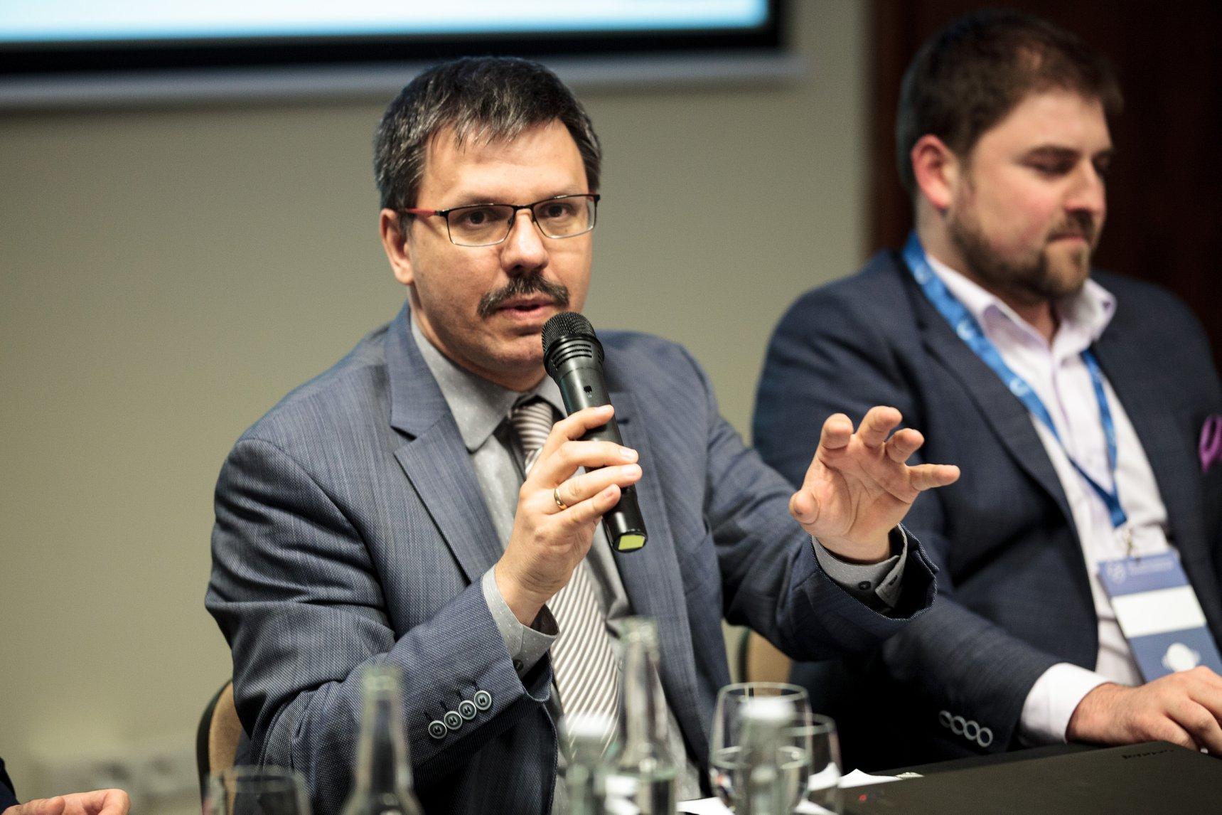 Wiceprezes WIB - Waldemar Zbytek na Konferencji PSRP