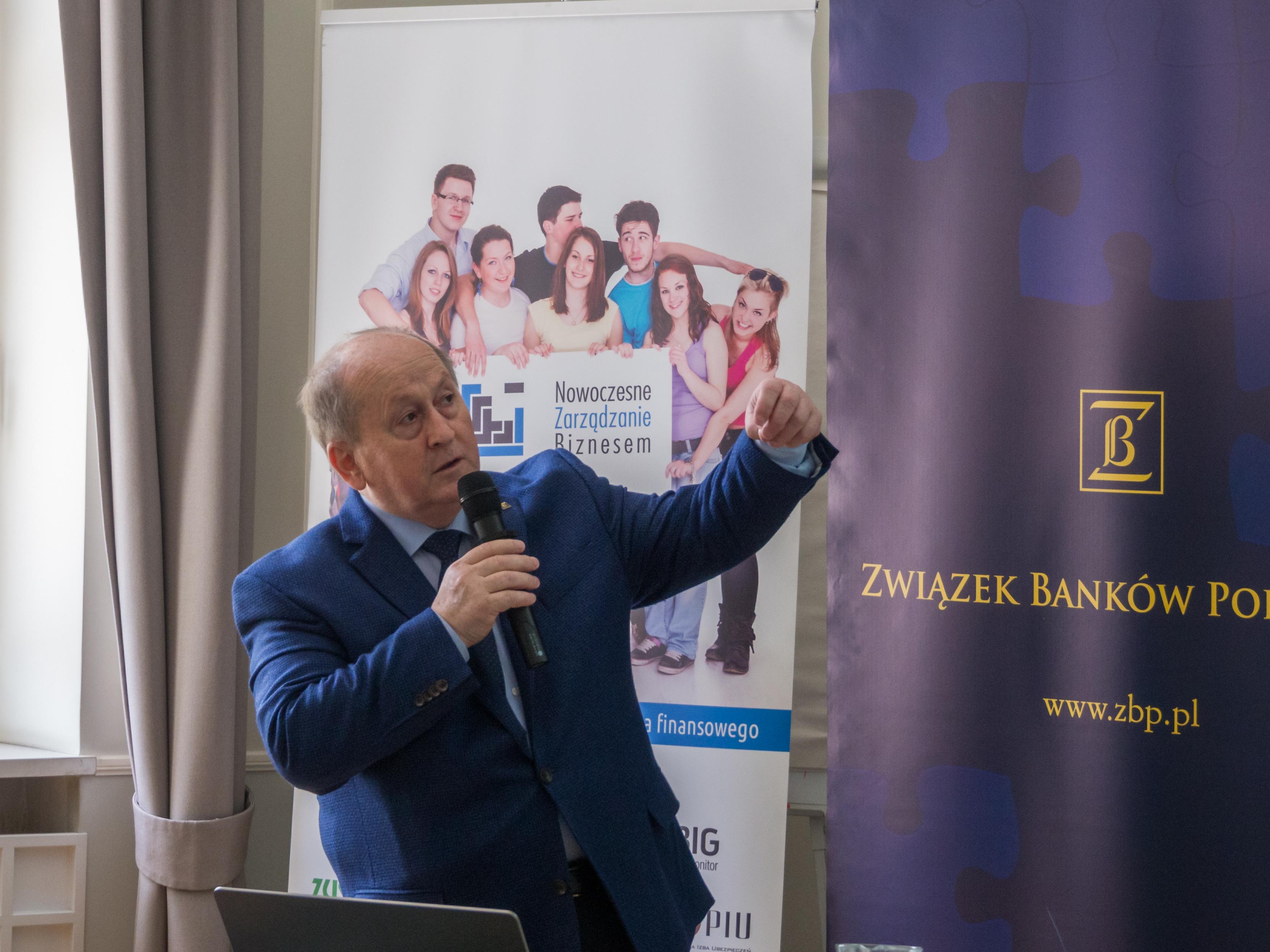 Prezes ZBP Krzysztof Pietraszkiewicz podczas International.Week.Warsaw