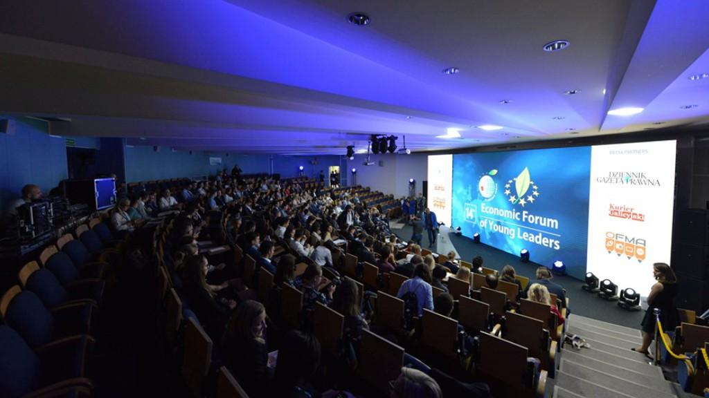 XIV Forum Ekonomiczne Młodych Liderów, gdzie Program BdE współorganizował panel dot. cyberbezpieczeństwa, Nowy Sącz, wrzesień 2019 r.
