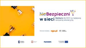 (Nie)Bezpieczni w sieci - Konkurs MS i NASK dla NGO na najlepszą kampanię edukacyjną