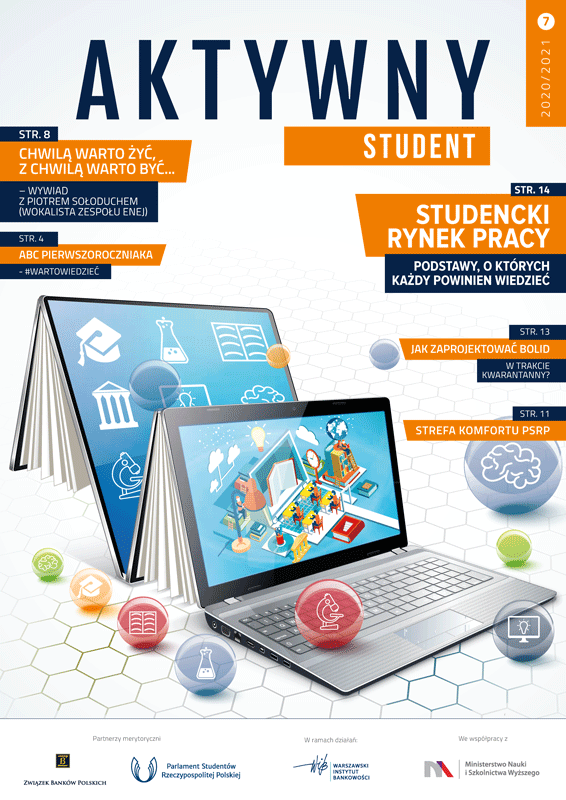 Biuletyn Aktywny Student - numer 7 - 2020-2021 - Okładka