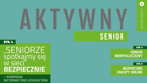 Biuletyn Aktywny Senior - numer 4 - 2020-2021 - Nagłówek