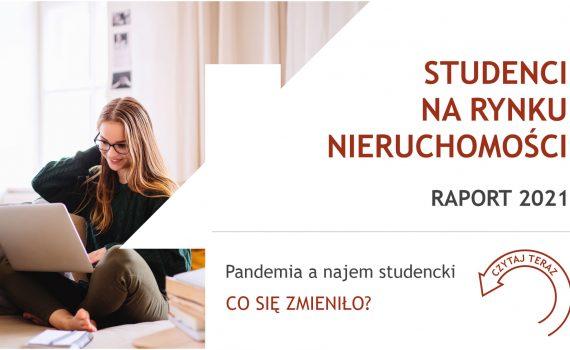 """Raport """"Studenci na rynku nieruchomości 2021"""" - AMRON, WIB, ZBP"""